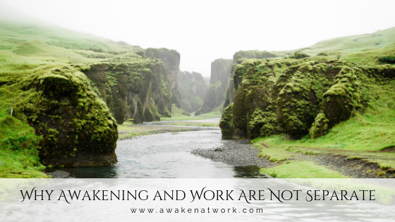 Why Awakening and Work Are Not Separate by Sonya Amrita